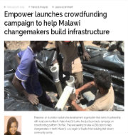 Crowdfunding campaign to help Malawi changemakers
