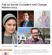 Social Crusaders and Change Makers