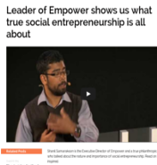 True Social Entrepreneurship